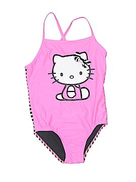 Hello Kitty One Piece Swimsuit Size M (Kids)