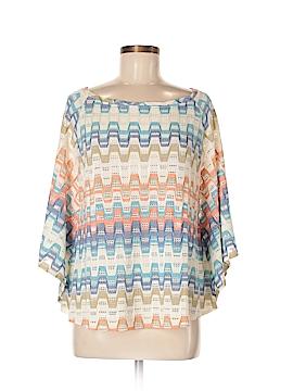 Trina Turk 3/4 Sleeve Top Size M