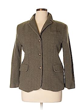 L.L.Bean Wool Blazer Size 16 (Petite)