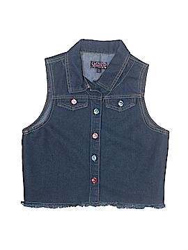 Sparkle Denim Vest Size X-Large (Kids)