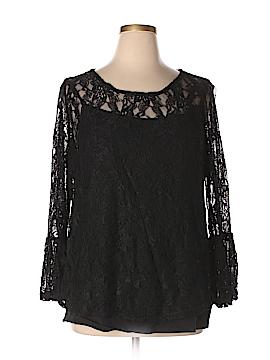 Boutique + Long Sleeve Top Size 1X (Plus)