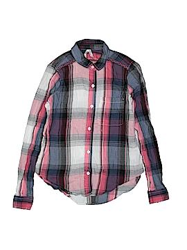 Mudd Long Sleeve Button-Down Shirt Size S (Kids)