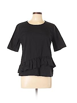 Pleione Short Sleeve Blouse Size L