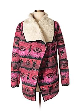 Mink Pink Faux Fur Jacket Size S