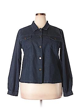 April Cornell Denim Jacket Size XL