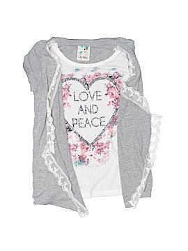Lily Bleu Short Sleeve Top Size 5
