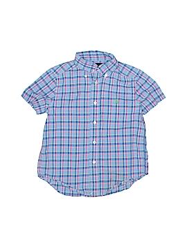 Ralph Lauren Short Sleeve Button-Down Shirt Size 4T