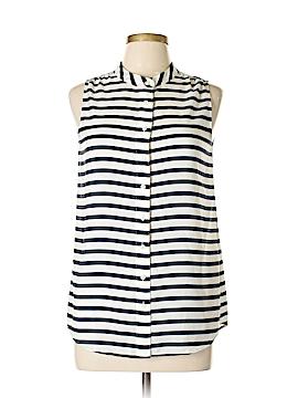 J. Crew Sleeveless Button-Down Shirt Size 6