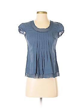 J.jill Short Sleeve Blouse Size 0 (Petite)