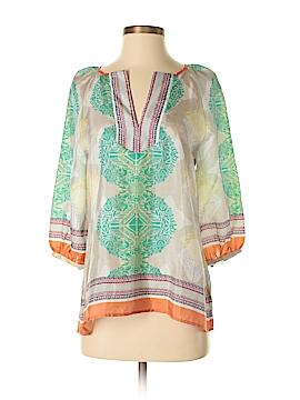 Aryn K. 3/4 Sleeve Silk Top Size S