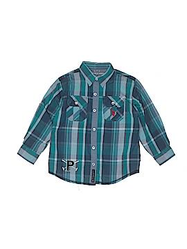 U.S. Polo Assn. Long Sleeve Button-Down Shirt Size 5 - 6