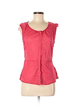 Converse Short Sleeve Button-Down Shirt Size M