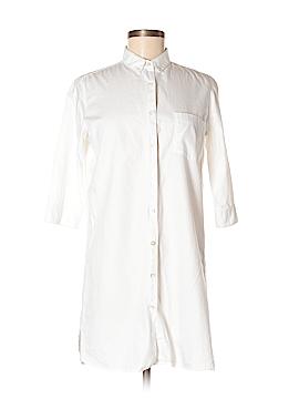 DemyLee 3/4 Sleeve Button-Down Shirt Size M