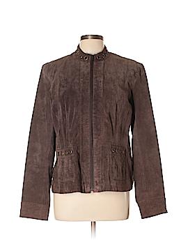 Ruff Hewn Leather Jacket Size XL