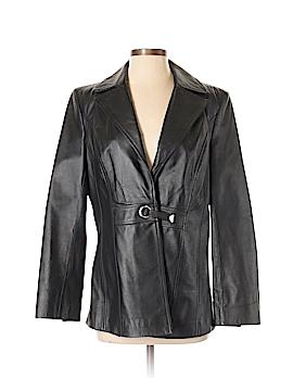 Pamela McCoy Leather Jacket Size S