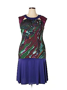 Jete Casual Dress Size 1X (Plus)