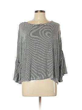Caslon 3/4 Sleeve Top Size L (Petite)