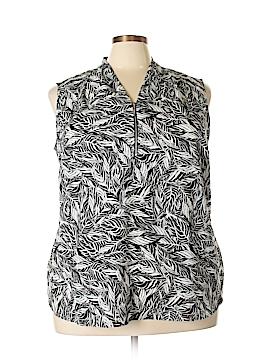 Jaclyn Smith Sleeveless Blouse Size 2X (Plus)