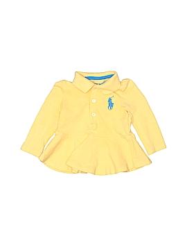 Ralph Lauren Long Sleeve Polo Size 9 mo