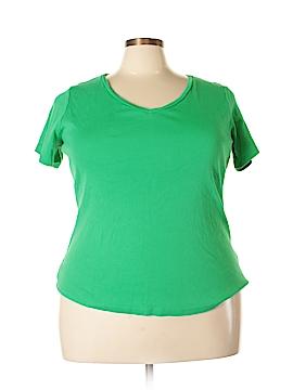 Crown & Ivy Short Sleeve T-Shirt Size 3X (Plus)
