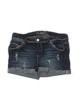 Rue21 Denim Shorts Size 14
