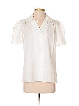 Rhapsody Short Sleeve Button-Down Shirt Size M