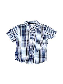 Steve & Barry's Short Sleeve Button-Down Shirt Size 24 mo