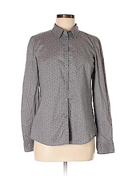 Esprit Long Sleeve Button-Down Shirt Size S