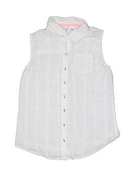 Japna Kids Sleeveless Button-Down Shirt Size 14