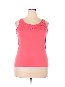 Lizwear by Liz Claiborne Sleeveless Top Size XXL