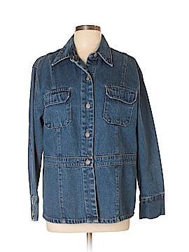 Bill Blass Jeans Denim Jacket Size XL