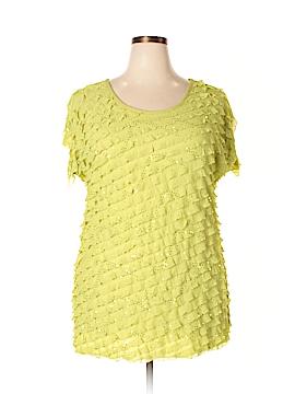Antthony Originals Short Sleeve Top Size 1X (Plus)