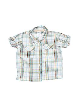 Cherokee Short Sleeve Button-Down Shirt Size 6 mo