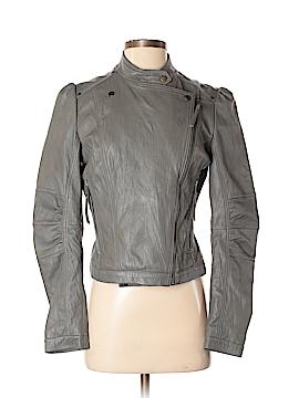 Emilie D. Leather Jacket Size S