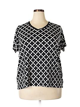 Croft & Barrow Short Sleeve T-Shirt Size 2X (Plus)