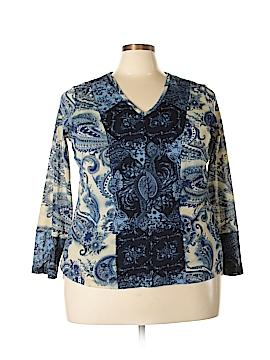 Venezia Long Sleeve Top Size 18 - 20 Plus (Plus)