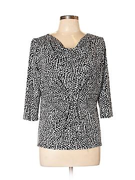 Cheryl Nash Windridge 3/4 Sleeve Top Size XL