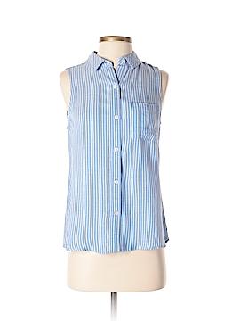 Kohl's Sleeveless Button-Down Shirt Size S
