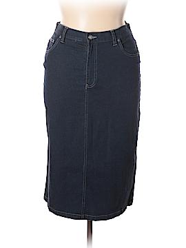 Calvin Klein Denim Skirt Size 12