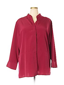 Silhoutte Long Sleeve Blouse Size 26w (Plus)