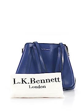 L.K. Bennett Leather Shoulder Bag One Size