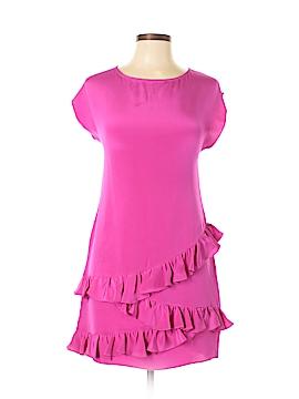 Jay Godfrey Short Sleeve Silk Top Size 2X (Plus)