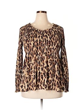 Sunny Leigh Long Sleeve Blouse Size XL