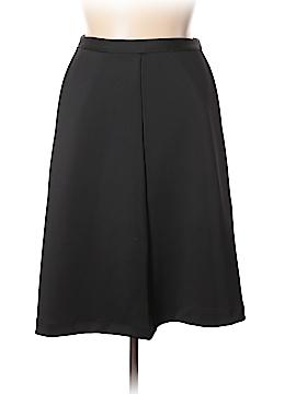 Pink Tartan Casual Skirt Size 14