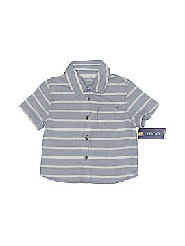 Cherokee Short Sleeve Button-Down Shirt Size 12 mo