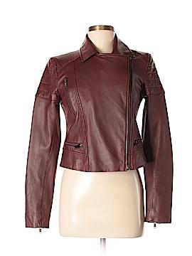 Banana Republic Faux Leather Jacket Size S