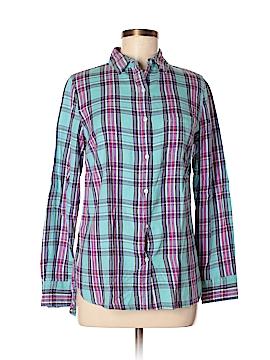 Le Tigre Long Sleeve Button-Down Shirt Size S