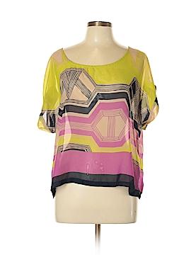 Xhilaration Short Sleeve Blouse Size XL