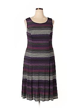 Danny & Nicole Casual Dress Size 2X (Plus)
