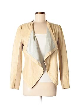 Halogen Leather Jacket Size M (Petite)